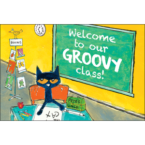Pete the Cat Welcome To Our Groovy Class - Postcards