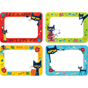 Pete the Cat - Name Tags/Labels
