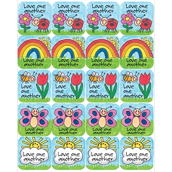 Children's Ten Commandments Stickers