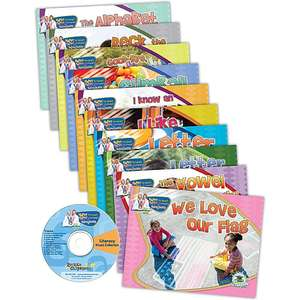 Dr. Jean Literacy Reader Set (10 English Books + CD)