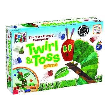 The Very Hungry Caterpillar Twist & Toss - Game