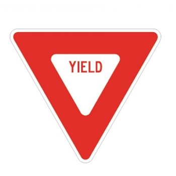 UltraPlay - Traffic Sign - Yield