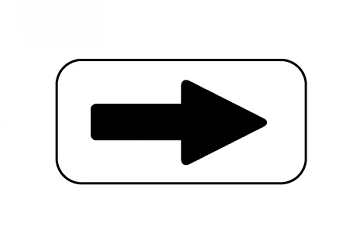 UltraPlay - Traffic Sign - Direction Arrow