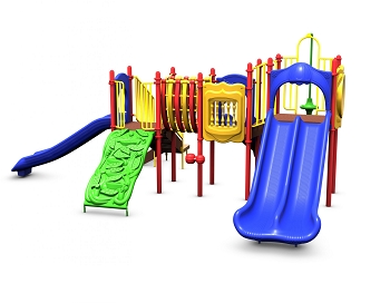 Keegan's Kastle Playground - Playful Colors