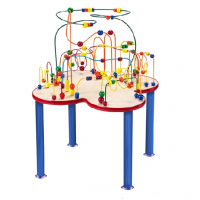 Fleur Roller Coaster Table (Metal Legs)