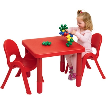 Value Line 24'' Square Table and 2 Chairs
