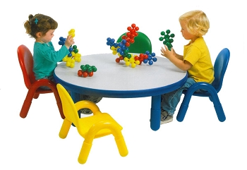 Baseline Round Toddler Table and Chairs Set