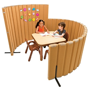 Sound Sponge Quiet Dividers, Choice of Colors & Sizes