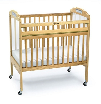 Angeles Safe-T-Side Cribs Clear Panels
