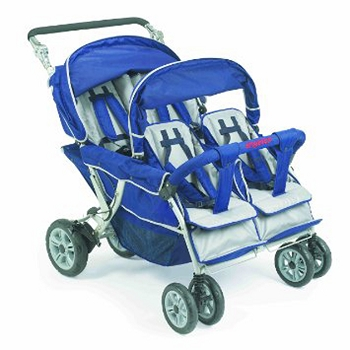SureStop Folding Commercial Bye-Bye Stroller for 4