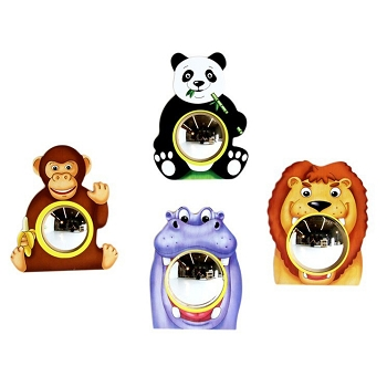 Animal Friends Wall Mirrors - Set of 4