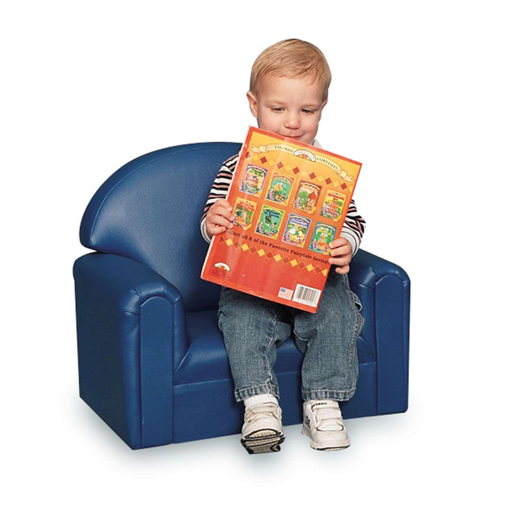 Just Like Home' Premium Infant-Toddler Vinyl Chair - Choice of Color