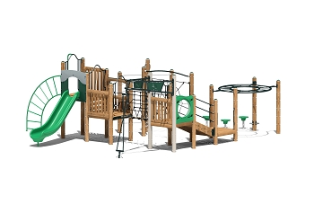 Achiever Play Structure - Metal or Wood Available