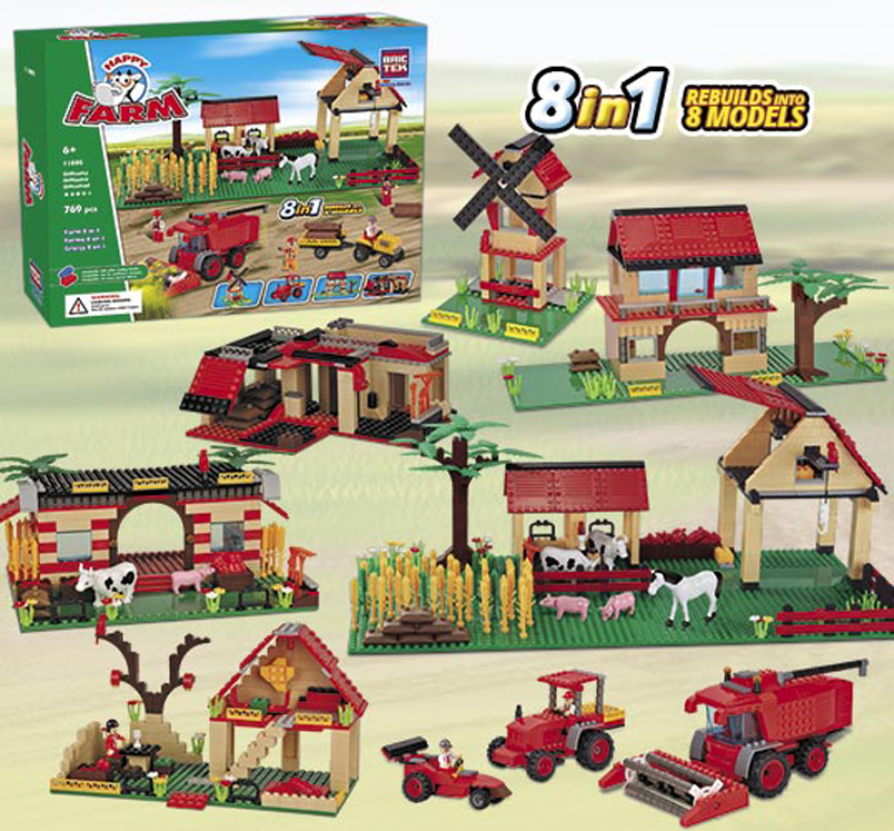 Happy Farm - 8 in 1