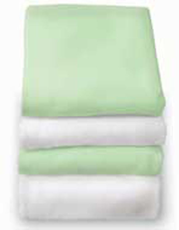 Bunkie Fitted Crib Sheet - 6 Pack