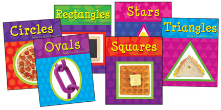 Shapes Books Set - Set of all 6