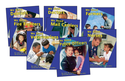Helpers in Our Community Book Set - Set of 8
