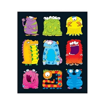 Monsters - Prize Pack Stickers
