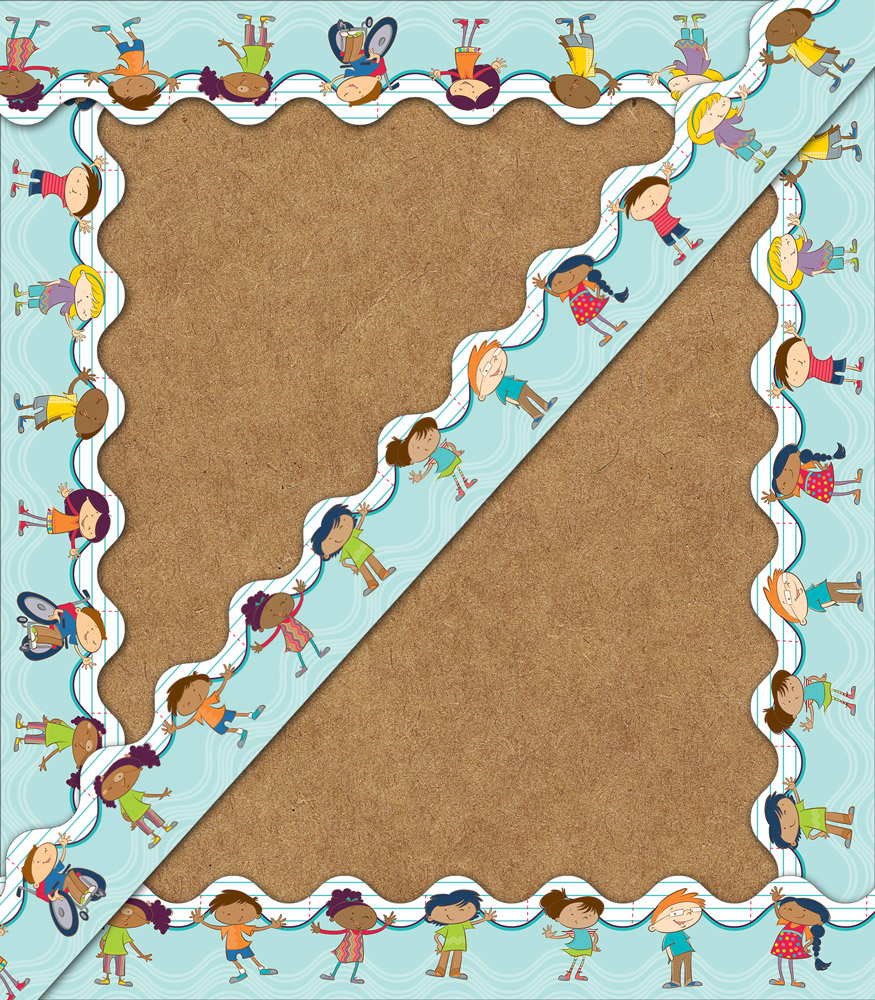 Carson Kids Scalloped Borders