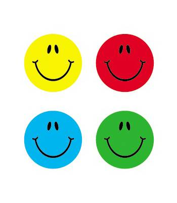 Smiles - Multicolor Chart Seals
