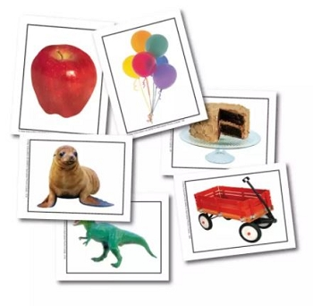 Alphabet Photo Object - Learning Cards