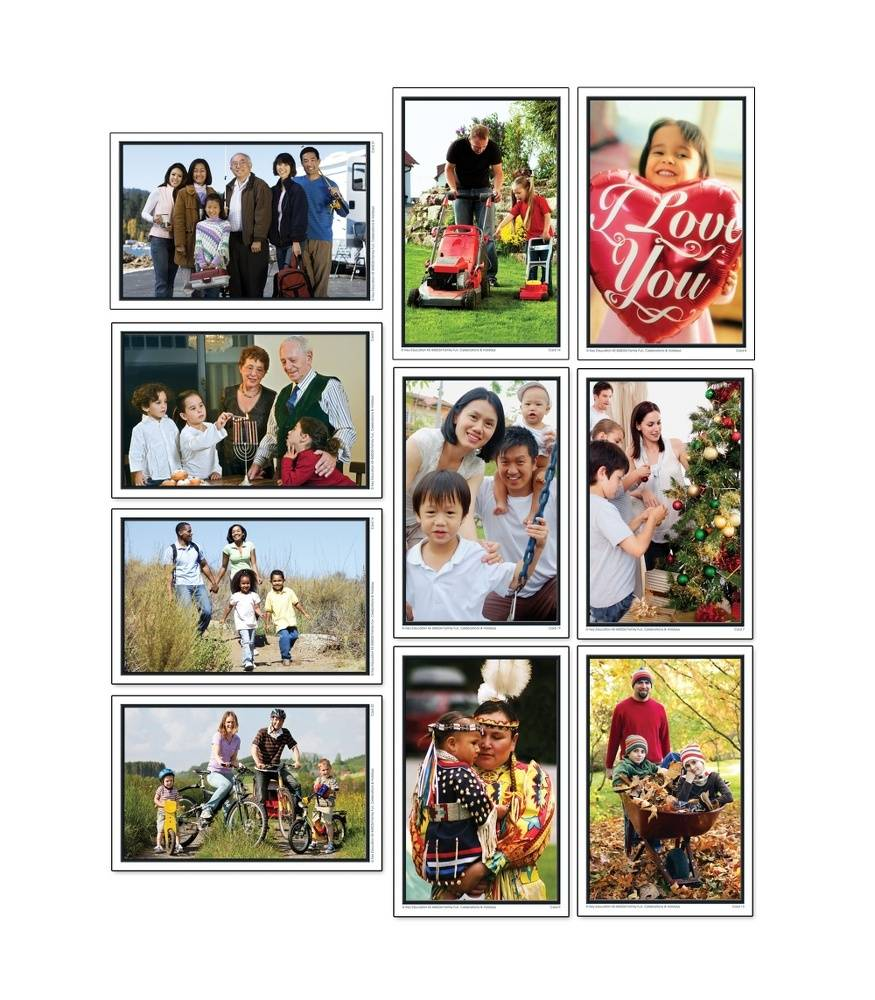 Family Celebrations and Holidays - Learning Cards