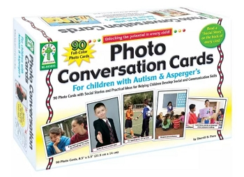 Photo Conversation Cards for Children with Autism and Asperger's - Learning Cards