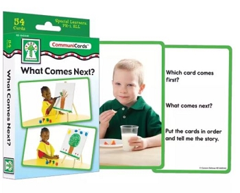 What Comes Next? - Learning Cards
