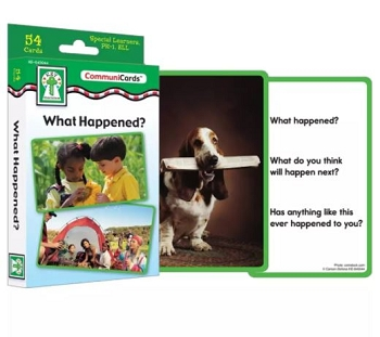 What Happened? - Learning Cards