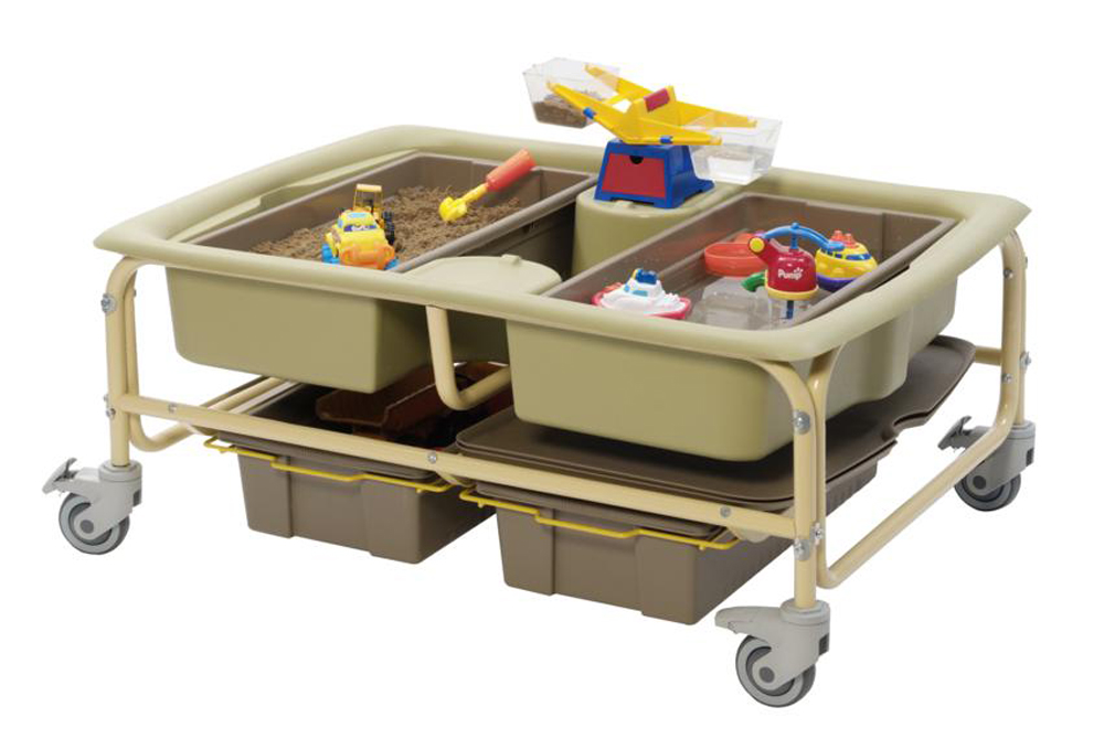 Sand and Water Table - Earth Tone Color Option