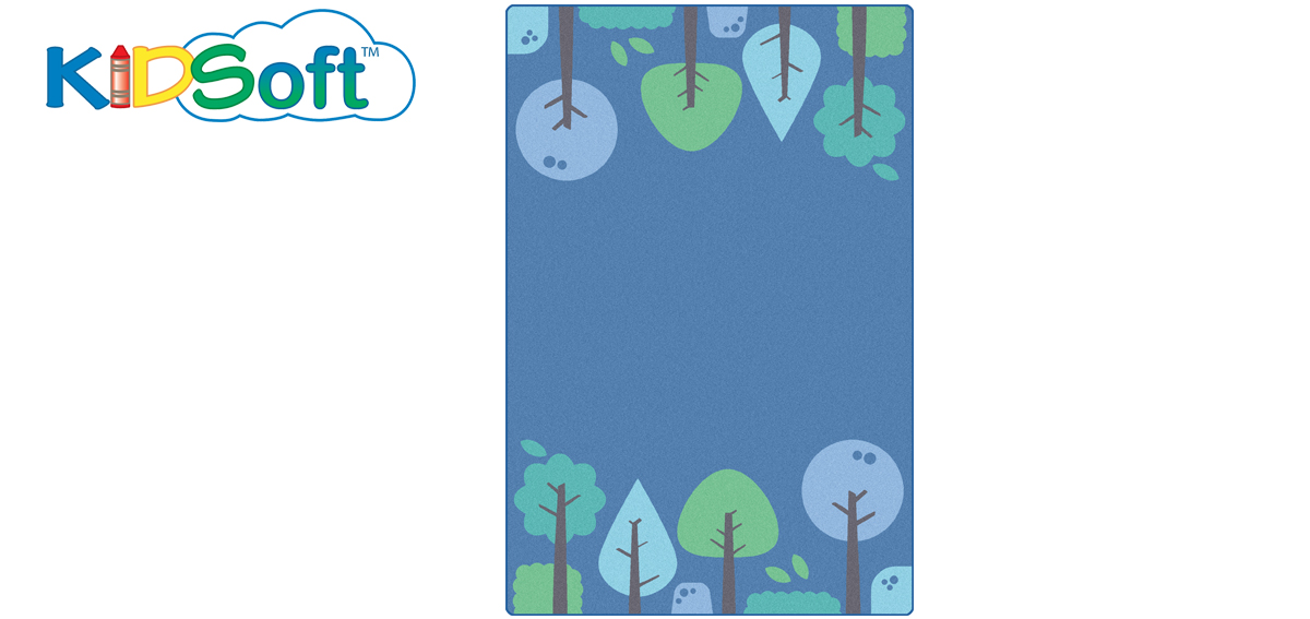 Tranquil Trees (Blue)