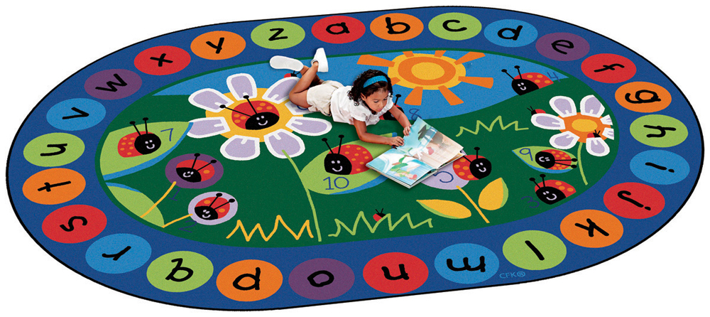 Ladybug Circletime Rug - 2 Sizes