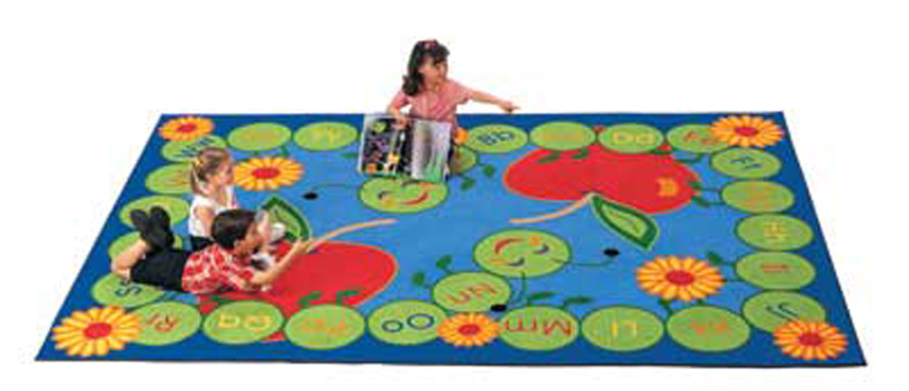 ABC Caterpillar Rug - Rectangle - 3 Sizes