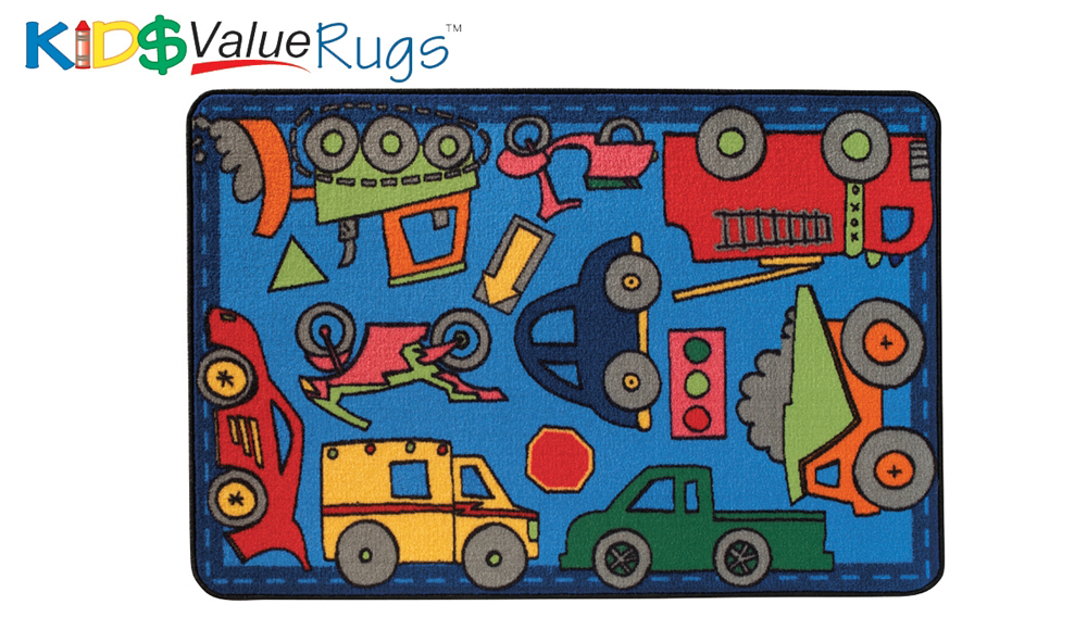 Wheels on the Go Value Rug