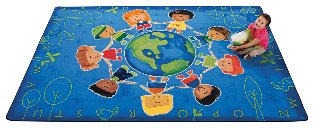 Give the Planet a Hug Rug - 3 Sizes