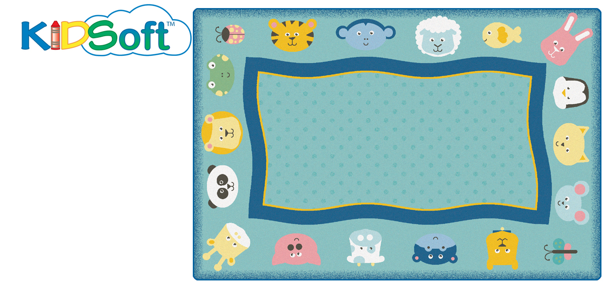Quiet Time Animal Rug | 4' x 6' | 6' x 9' | 8' x 12'