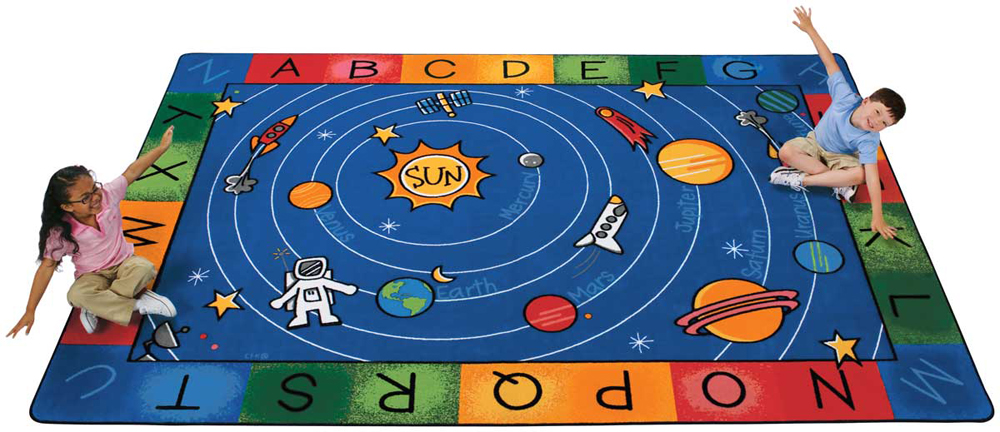 Milky Play Literacy Rug - Rectangle