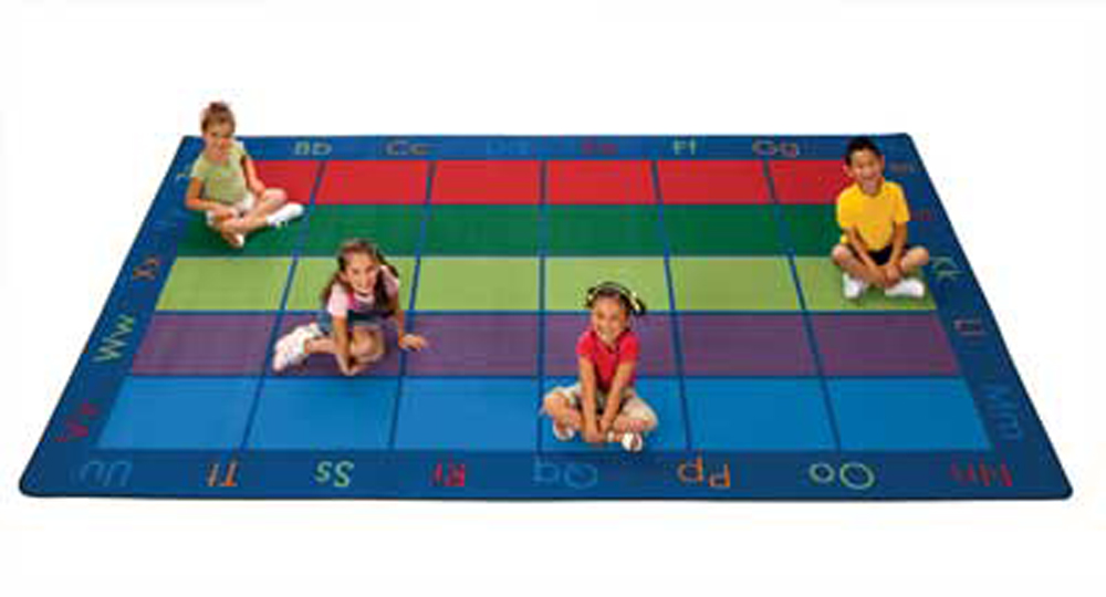 Colorful Places Seating Rug - 2 Sizes