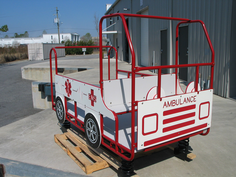 Large Spring Rider Ambulance