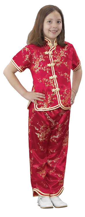 Multicultural Costume, Chinese Girl