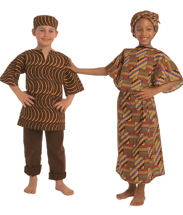 Multicultural Costume, West African Girl