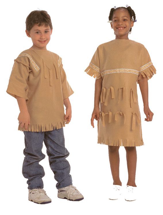 Multicultural Costume, Plains Indian Boy