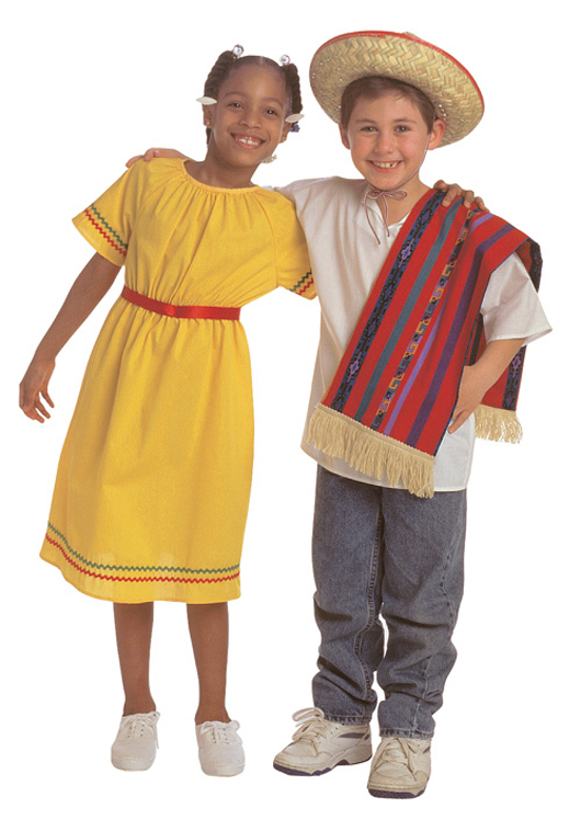 Multicultural Costume, Mexican Girl