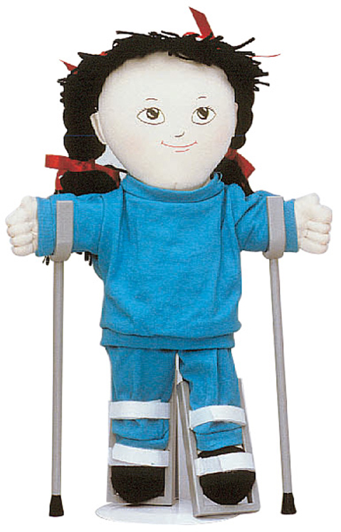Special Needs Doll Accessories - Leg Braces (Pair)