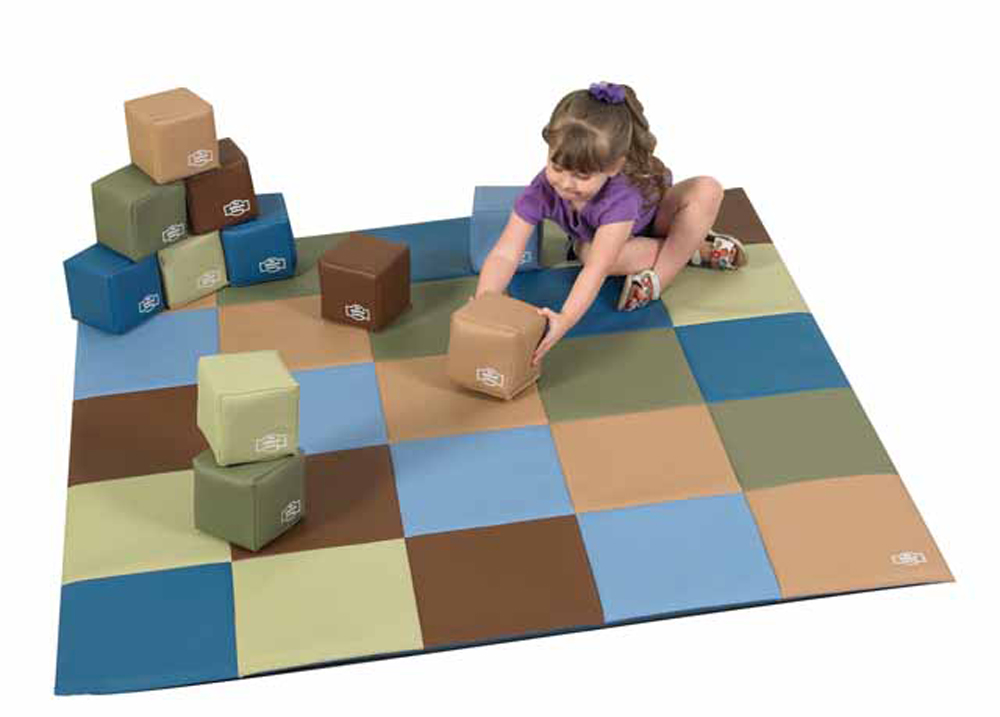 Cozy Woodland Patchwork Mat - Optional Blocks
