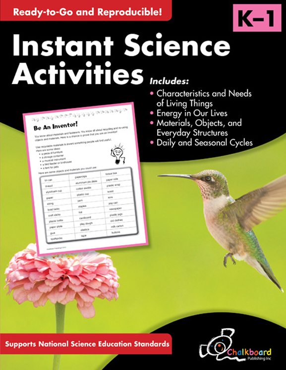 Instant Science Activities, Grades K-1
