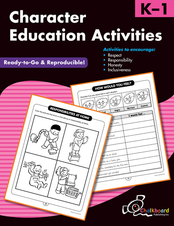 Character Education Activities, Grades K-1