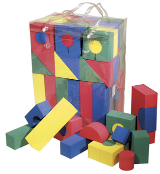 WonderFoam Blocks - 68-Piece Set