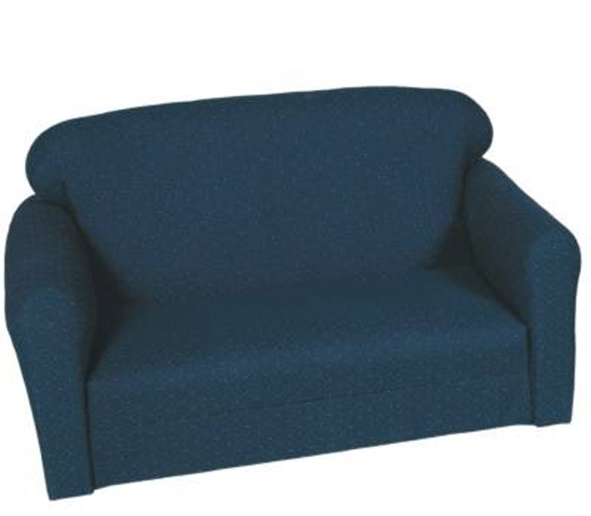 Blue Pin Dot Sofa