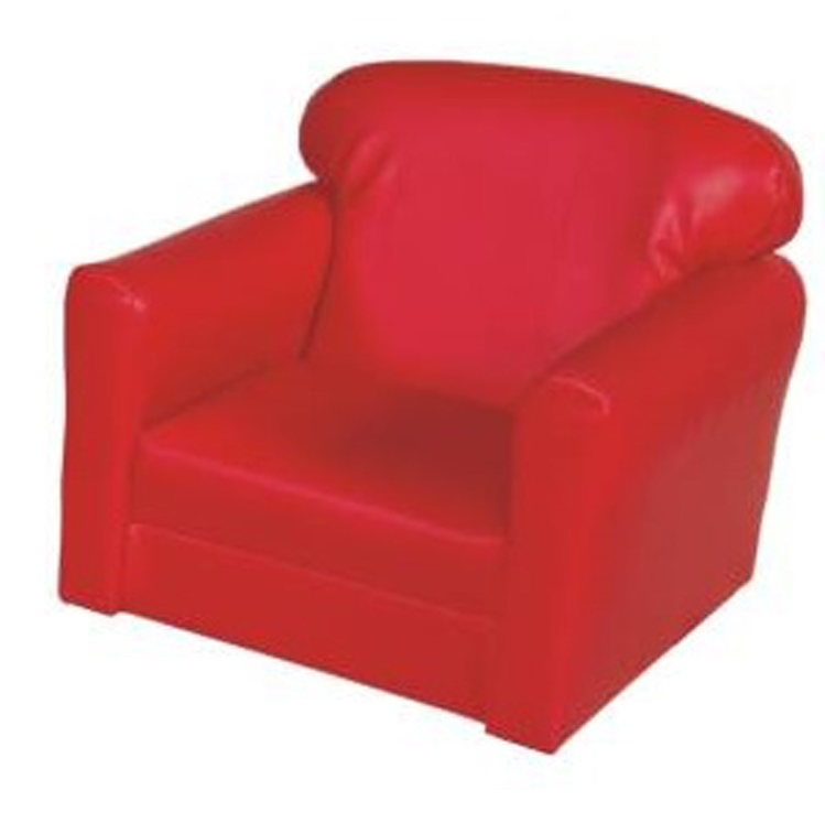 Red Vinyl Chair